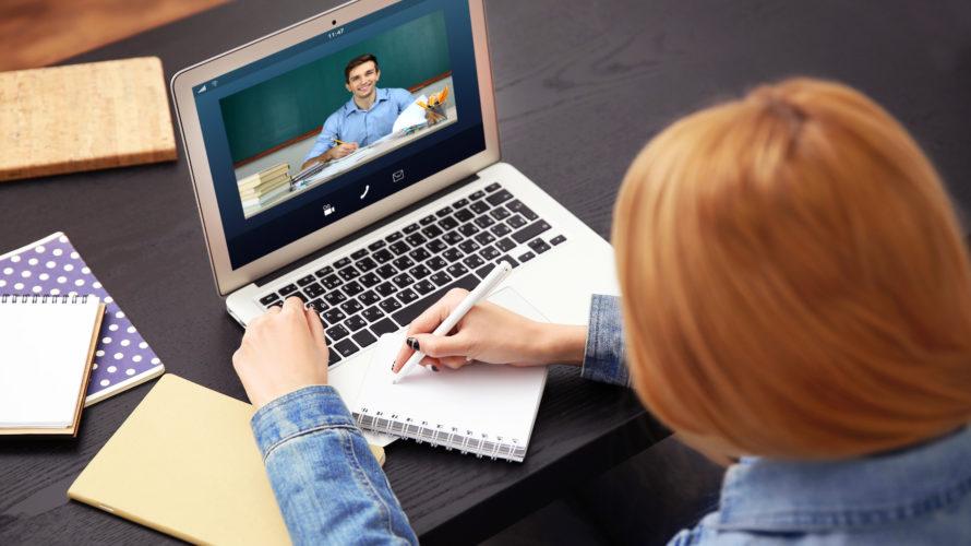 いつでも、どこでも指導可能!オンライン家庭教師とは?